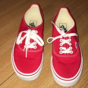 NWOT Vans Sneakers